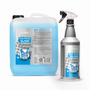 Clinex Nano Protect Glass Płyn do mycia szyb, luster 1l