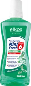 Elkos Mint Fresh Płyn Do Płukania Ust 500Ml