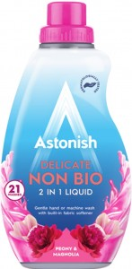 Astonish Non Bio Delicate Peony & Magnolia - Koncentrat  do Prania 840ml