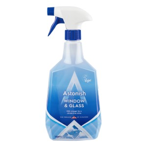 Astonish płyn do mycia szyb  spray 750ml