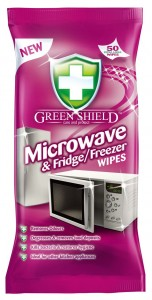 GREEN SHIELD MICRO&FREEZER WIPES 50Szt