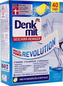 Denkmit Revolution tabletki do zmywarki 40szt