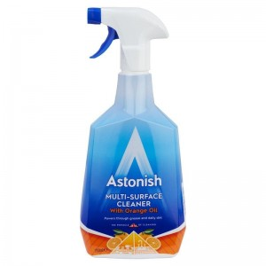 ASTONISH MULTI-SURFACE CLEANER WITH ORANGE OIL POMARAŃCZOWY ŚRODEK DO CZYSZCZENIA 750ML