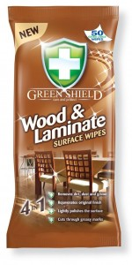 GREEN SHIELD WOOD & LAMIN WIPES 50Szt